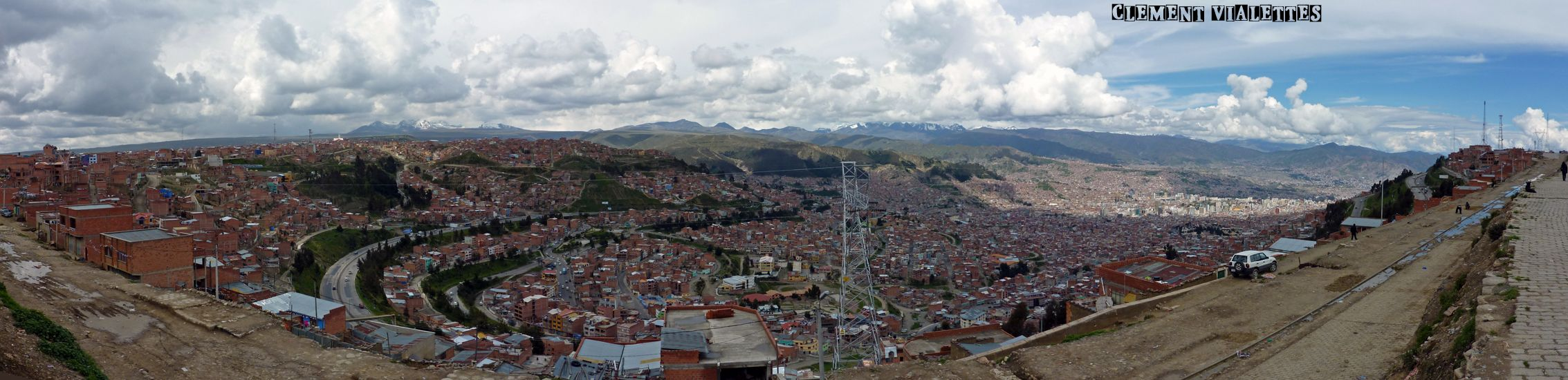 bolivie la paz panoramique