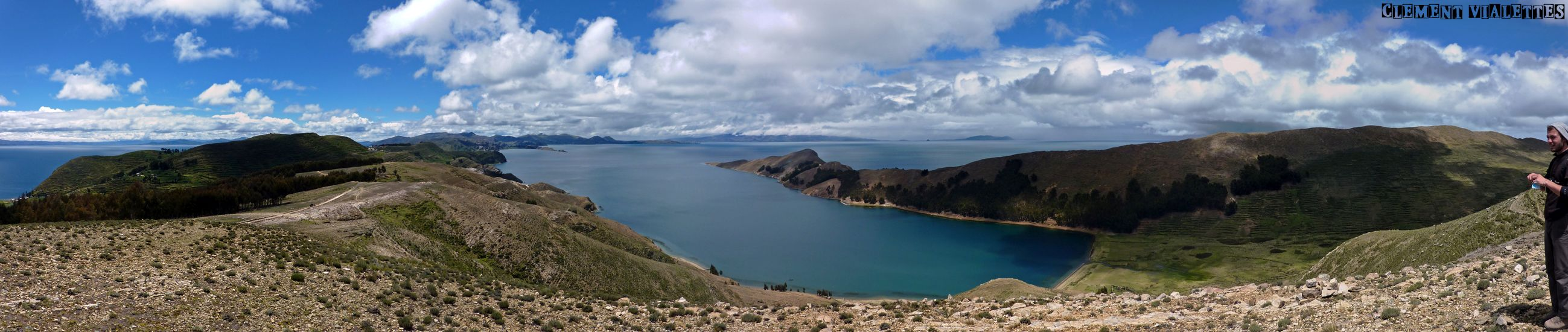 bolivie isla del sol panoramique