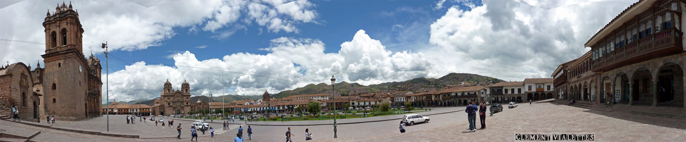 pérou Cusco panoramique